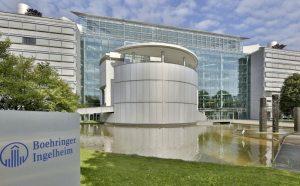 Entrada da empresa Boehringer Ingelheim
