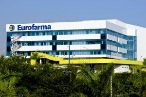Fachada da empresa Eurofarma