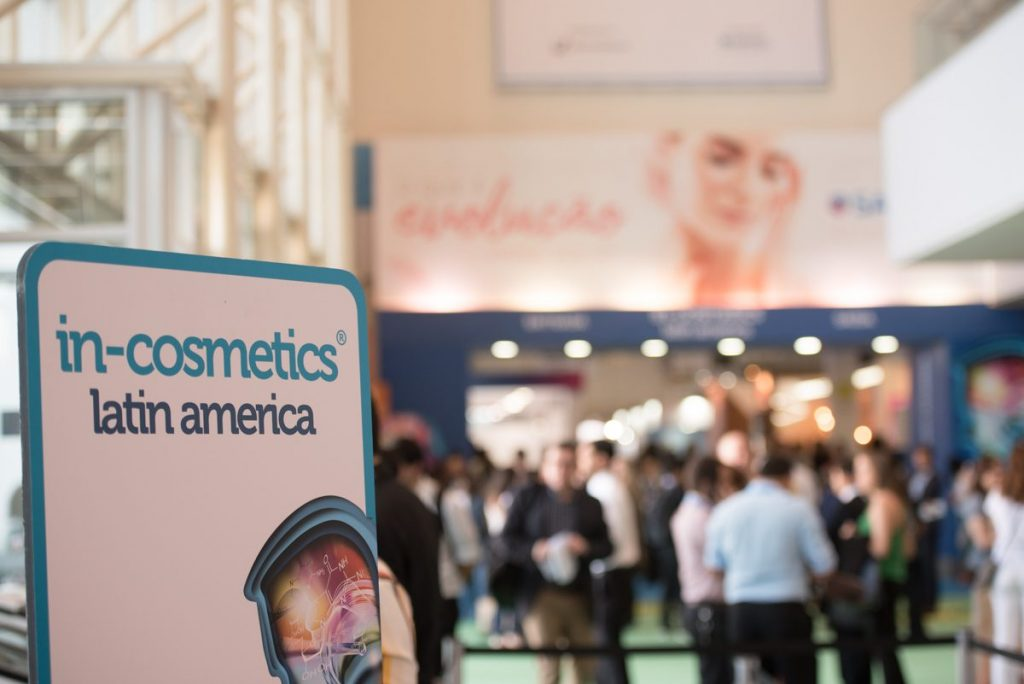 in-cosmetics Latin America acontece em setembro de 2021