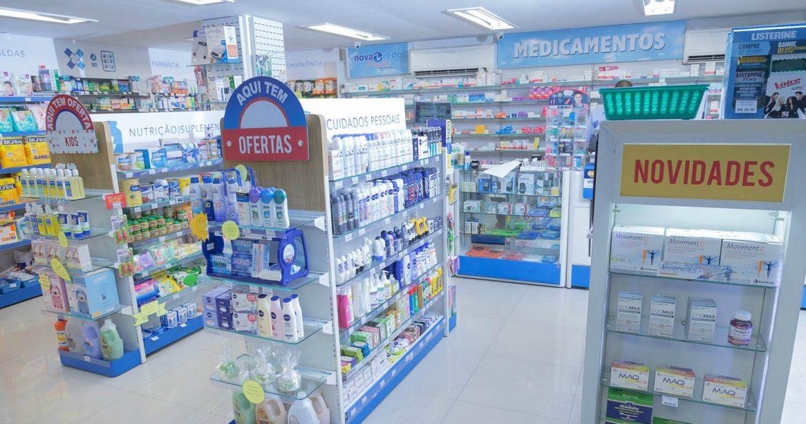 Farmácias devem continuar abertas por determinação de decreto