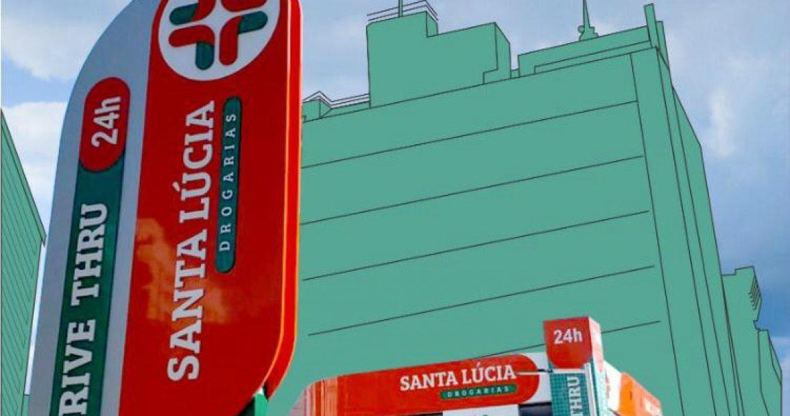 Santa Lúcia inaugura primeiro drive thru de Vitória
